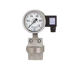 اندازه گیری فشار توسط اختلاف فشار به همراه سیگنال خروجی