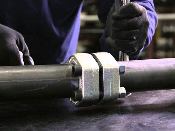 تجهیزات هیدرولیک و پنوماتیک - فلنج های فشار قوی