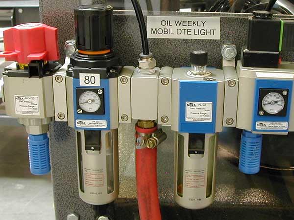 تجهیزات هیدرولیک و پنوماتیک - فیلتر رگولاتور