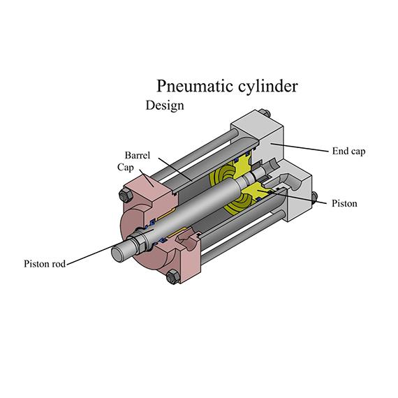 سیلندر پنوماتیک